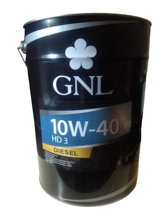 GNL HD 3 10W-40 API CG-4/SL 10W-40 20л - фото