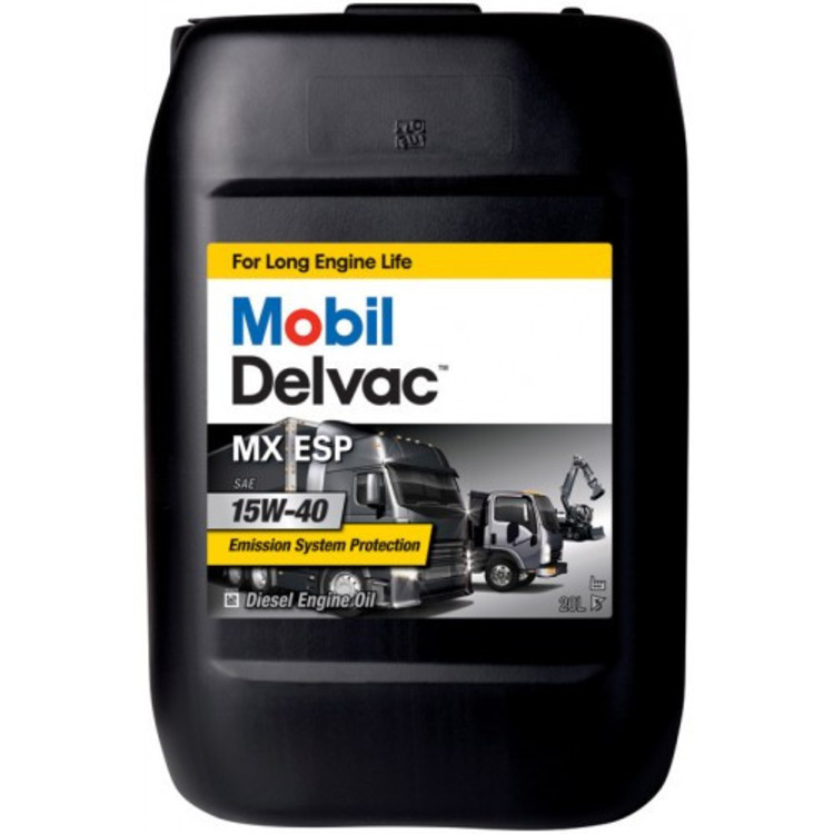 Mobil DELVAC MX ESP 15W40 20L 20л - фото
