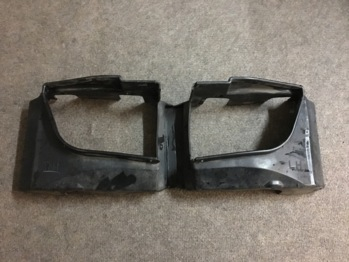 Дифузоры/защита радиаторов Mazda RX8 2006