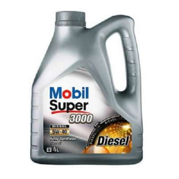 Mobil SUP 3000х1 DIESEL 5W40 4L 5W-40 4л - фото
