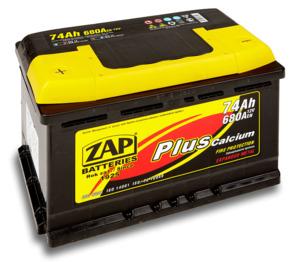 Аккумулятор ZAP PLUS Calcium 75 Ah