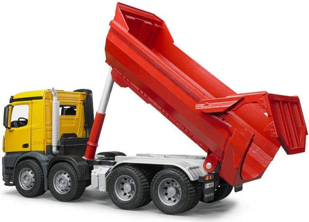 Переоборудование грузовика в самосвал - фото