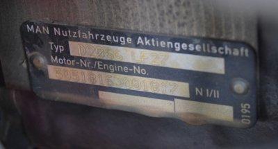 """Двигатель D20L F27 E5 do MAN""""a TGS TGX TGA. 400 / 440Л.С 2012"""