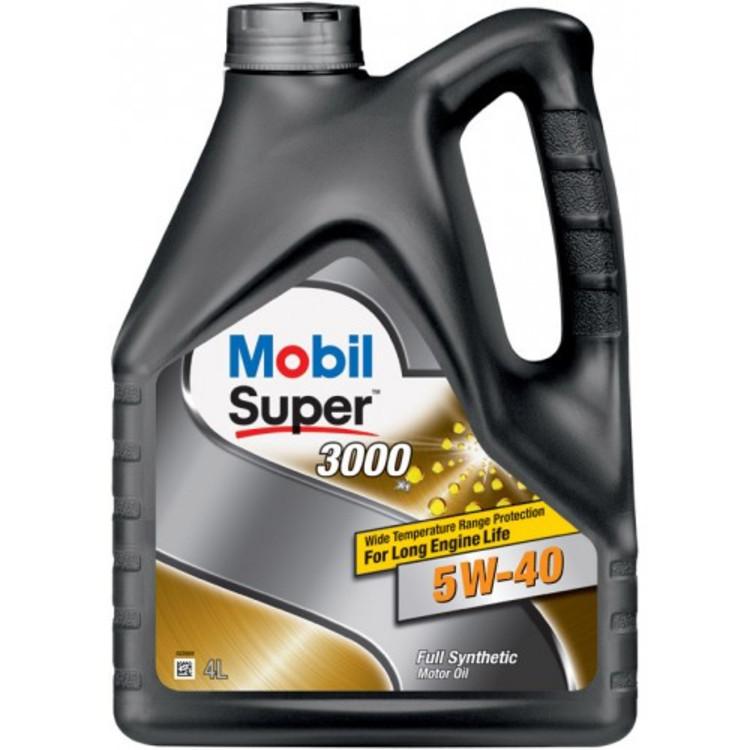 Mobil SUP 3000х1 5W40 4L 5W-40 4л - фото