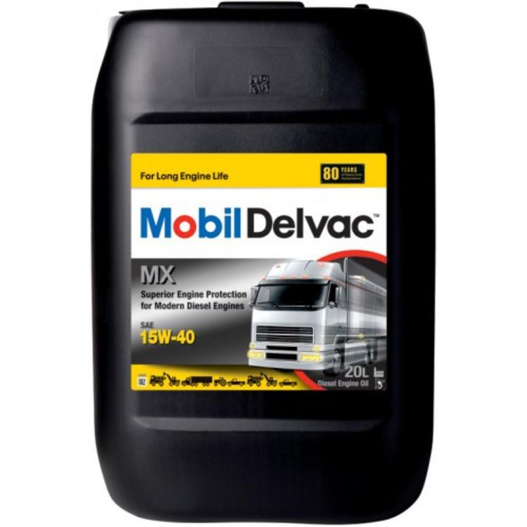 Mobil DELVAC MX 15W40 20L 20л - фото