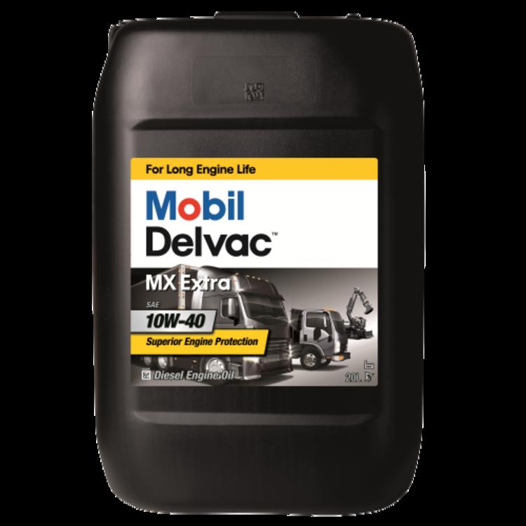 Mobil DELVAC MX EXTRA 10W40 20L 20л - фото