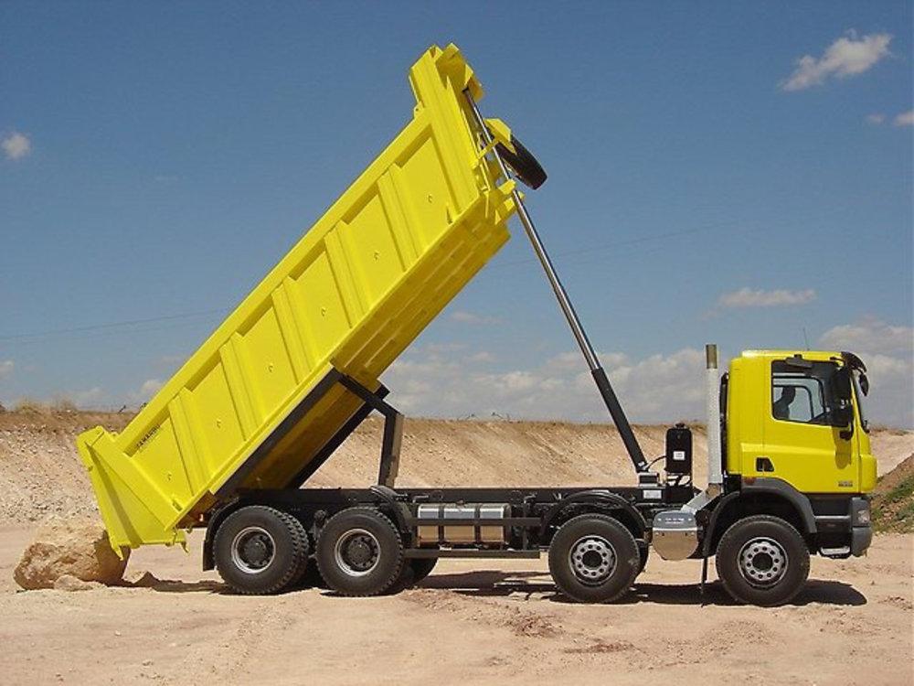 Переобладнання вантажівок на самоскиди - фото
