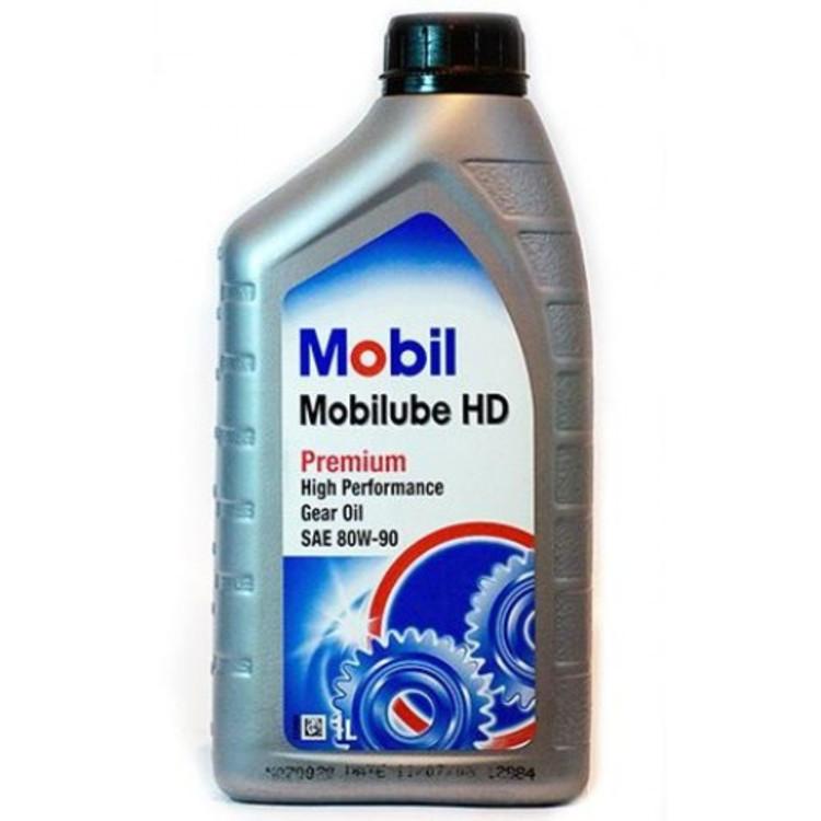 Mobil LUBE HD 80W90 GL-5 1L 1л - фото