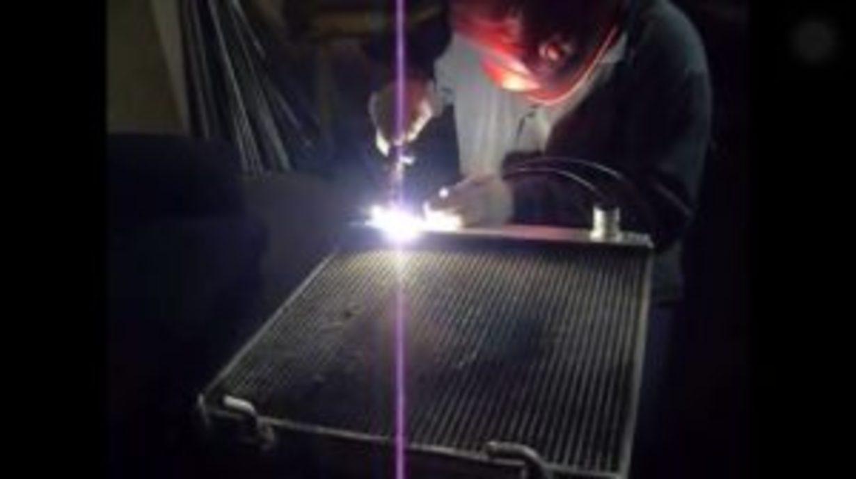Ремонт радиаторов, интеркуллеров DAF MAN и т.д - фото