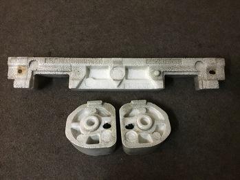 Наполнитель переднего бампера/пенопласт(оригинал) Mazda RX8 2006