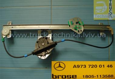 Комплект электростеклоподъемников Mercedes-Benz ATEGO, AXOR 1998