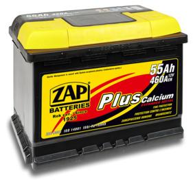 Аккумулятор ZAP 55 PLUS Calcium 55 Ah
