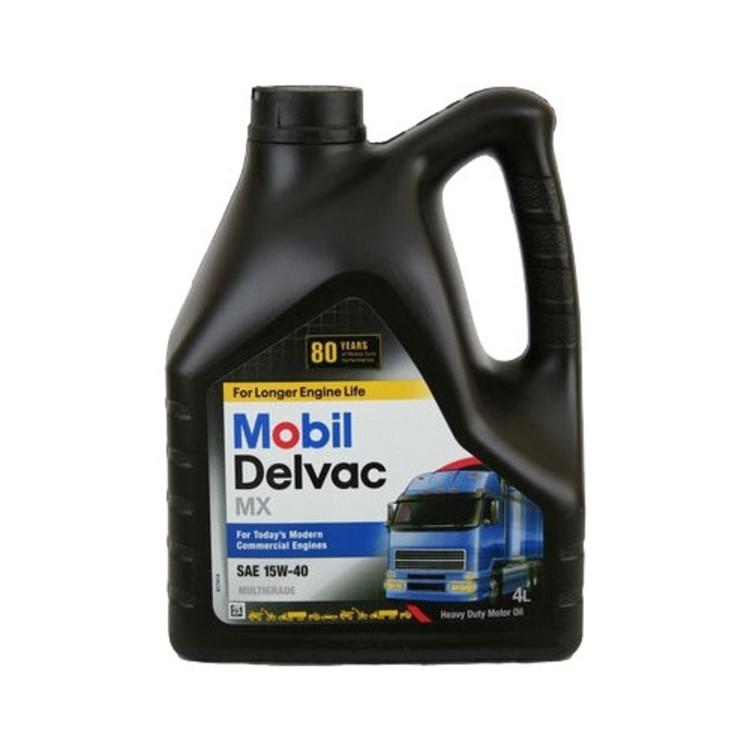 Mobil DELVAC MX 15W40 4L 4л - фото