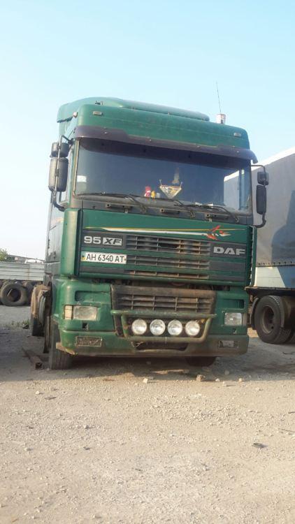 Рама DAF хф 1997 - фото
