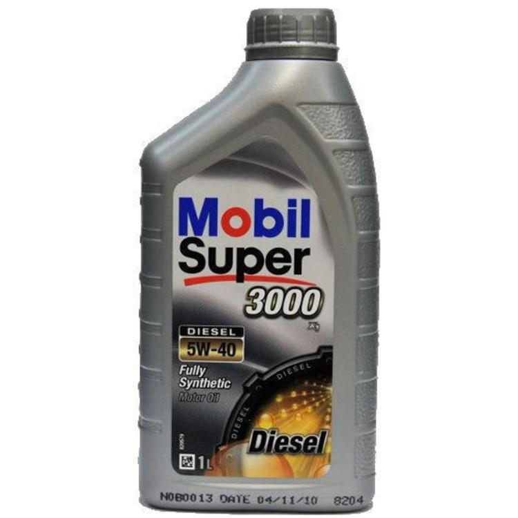 Mobil SUP 3000х1 DIESEL 5W40 1L 5W-40 1л - фото