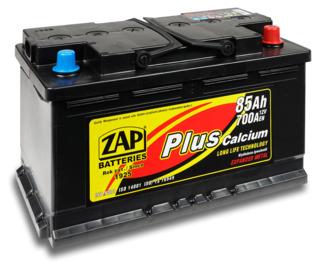 Аккумулятор ZAP PLUS Calcium 85 Ah