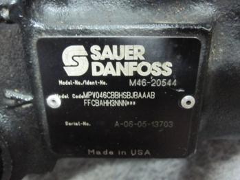 Ремонт гидромоторов и гидронасосов Sauer-Danfoss Agri World 234 2014