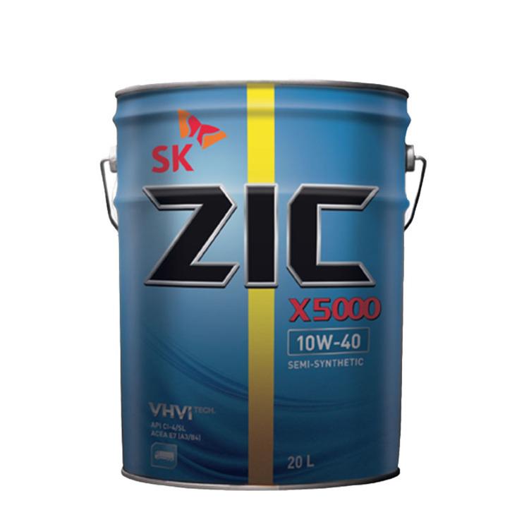 ZIC X5000 10W-40 10W-40 20л - фото