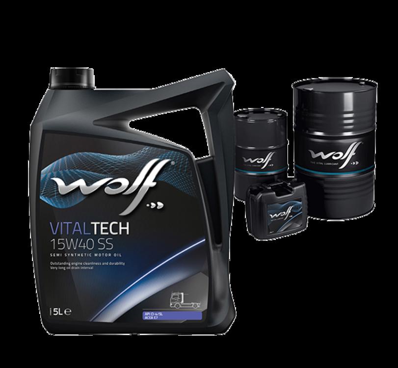 Wolf VITALTECH 10W-40 205л - фото